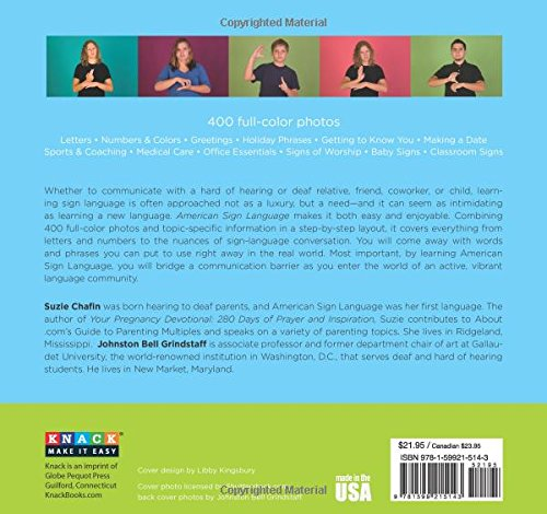 Knack American Sign Language: A Step-By-Step Guide To Signing (Knack: Make It Easy)