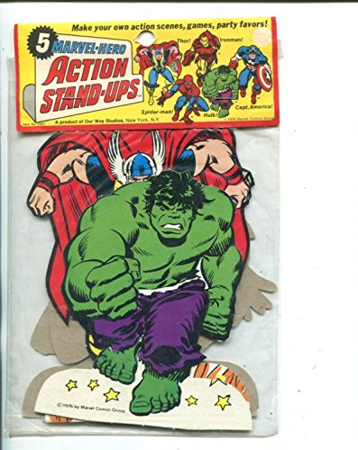 MARVEL HERO ACTION STAND-UPS