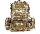 Portfolio outdoor backpack (Three sandy, One size)