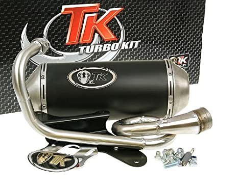 Escape turbokit Gmax para Piaggio Liberty 50 cc, Zip, Roller: Amazon.es: Coche y moto