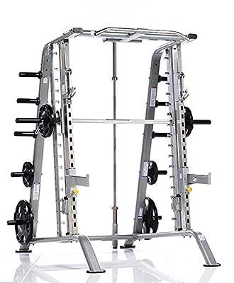 Tuff Stuff Fitness Evolution Smith Machine / Half Cage Combo Strength Training Rack