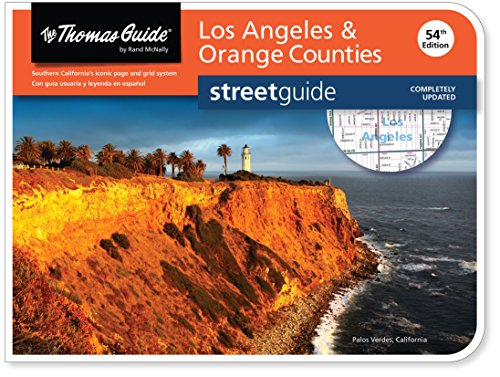 Tg 54th Ed Los Angeles / Orange: Laor (The Thomas Guide Streetguide)
