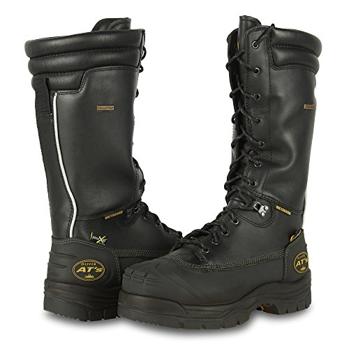 "Oliver by Honeywell 65691 65691-BLK-085 14"" Steel Toe Lea..."
