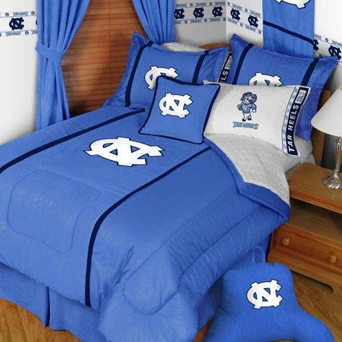 Mvp Pillow Sham (North Carolina Tar Heels Twin Comforter Pillow Sham MVP Bed)