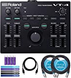 Best Vocal Processors - Roland VT-4 Voice Transformer Vocal Effects Processor BUNDLED Review