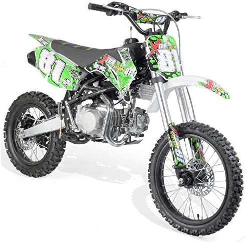 Dirt Bike 140cc 4T 17/14 Horquilla invertida: Amazon.es: Coche y moto