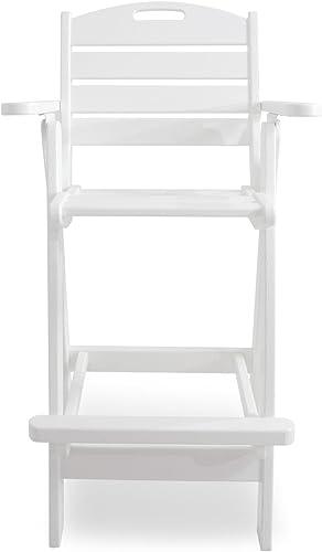 Reviewed: POLYWOOD NCB46WH Nautical Bar Chair