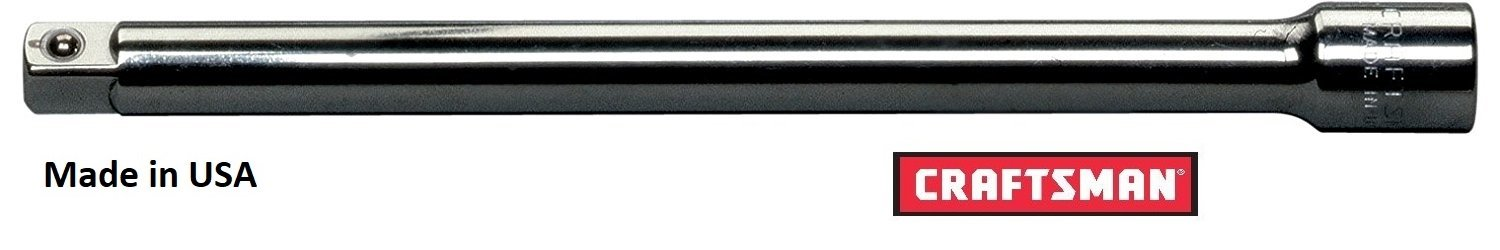 Craftsman 9-43532 1/4-Inch Drive 14-Inch Extension Bar, Rare, Made in USA