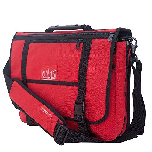 manhattan-portage-wallstreeter-w-back-zipper-red-one-size