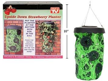 9 Hole Hang U0026 Grow Upside Down Strawberry Planter