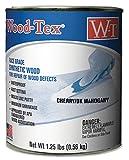 Wood-Tex 34021012 Wood Filler Adhesive - Pint, Cherry/Dark Mahogany
