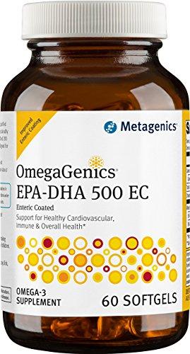 Metagenics OmegaGenics EPA DHA 500 Count