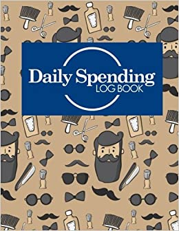 daily spending log book business expense and income expense log