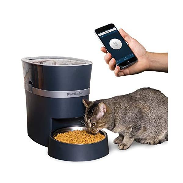 PetSafe-Smart-Feed-Automatic-Pet-Feeder-for-Cat-and-Dogs-Wi-Fi-Enabled-for-iPhone-and-Android-devices-Compatible-with-Alexa-Portion-Control-and-Programmable-Timer-for-up-to-12-Meals-per-Day