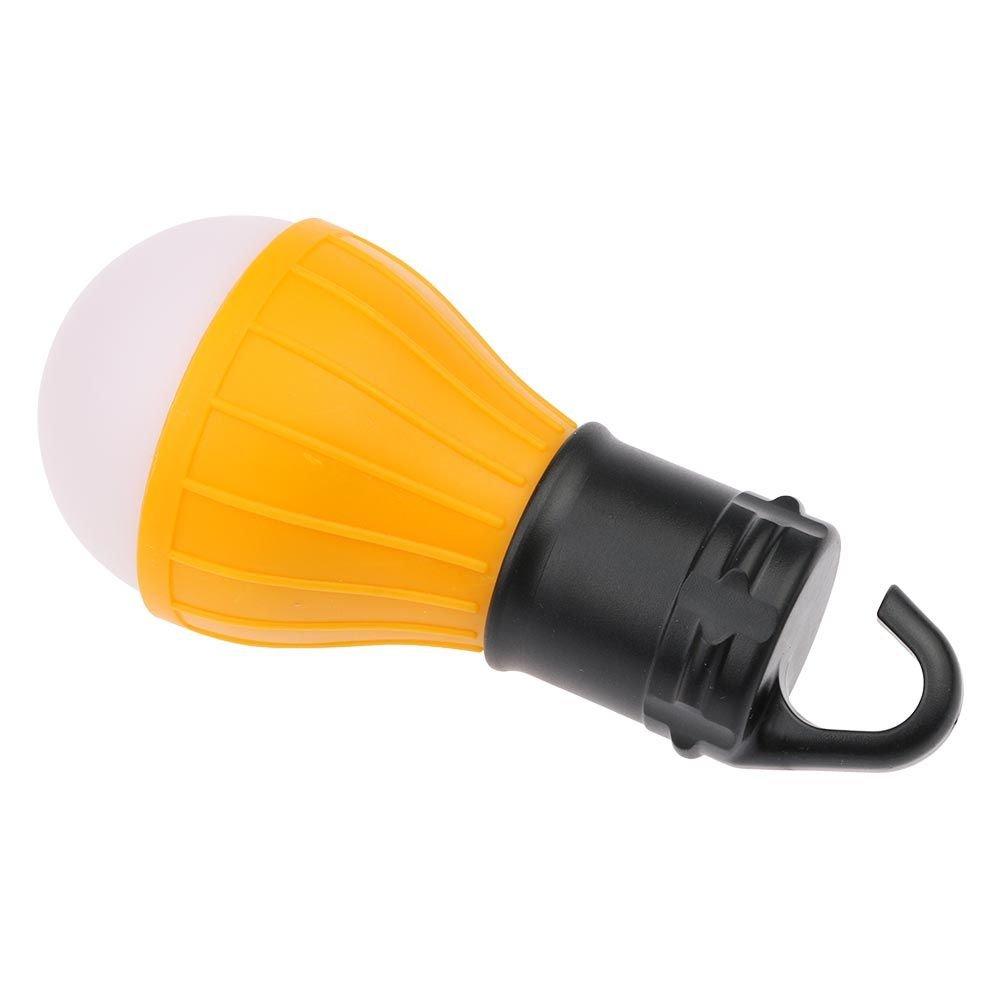 HuntGold Lampe de poche 3/LED Portable Plein air /À suspendre Tente Camping En forme d/'ampoule Lampe torche Lanterne de p/êche