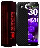 Skinomi TechSkin - LG Optimus G Pro Screen Protector + Carbon Fiber Full Body Skin / Front & Back Premium HD Clear Film / Ultra Invisible and Anti Bubble Shield