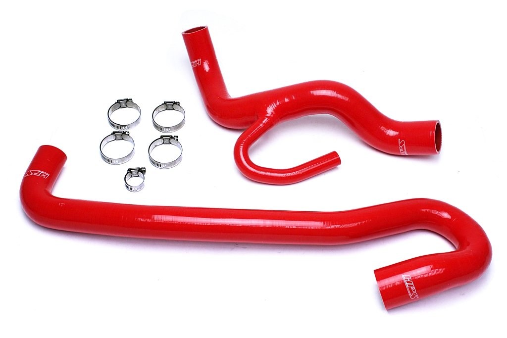 HPS 57-1456-RED WK2 Silicone Radiator Hose Kit Coolant