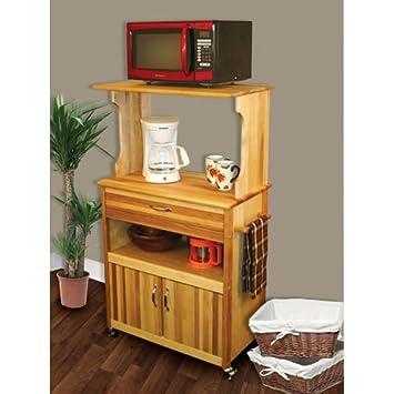 Amazon.com: Catskill Craftsmen carro de microondas con ...