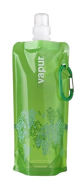 Vapur Reflex- Botella reutilizable de plástico, para agua- verde, 0,5 litros: Amazon.es: Deportes y aire libre