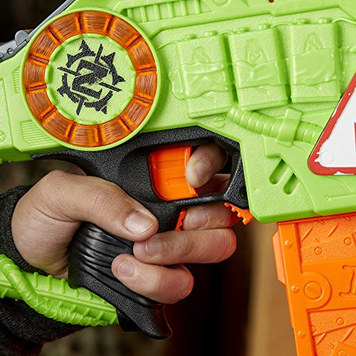 51VuE8FNTcL - NERF Revoltinator Zombie Strike Toy Blaster with Motorized Lights Sounds & 18 Official Darts for Kids, Teens, & Adults