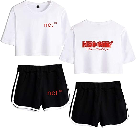 NCT Set NCT127 Camiseta del Verano Chándal Nuevo Album Neo City De ...