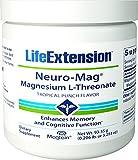Life Extension Neuro-Mag Magnesium L-Threonate Powder – 3.293 oz For Sale
