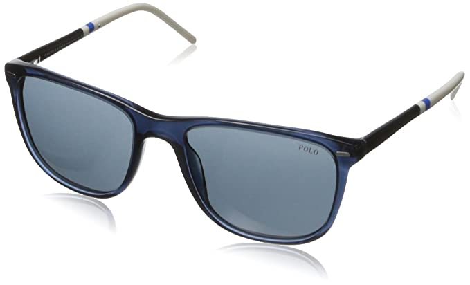 Ralph Lauren Polo Gafas de Sol Mod. 4064 527687 Azul: Amazon ...
