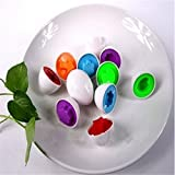 OrliverHL Education Toys,6 Eggs/Set Mixed Shape Wise Pretend Puzzle Smart Eggs Baby Kid Learning Toys Tool