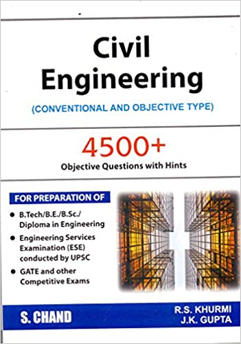 buy civil engineering conventional and objective type 2018 19