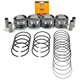 "NEW PS3600PR (STD Size) Engine Pistons and NPR Rings Kit for 97-04 Ford Focus Escort 2.0L 121 SOHC VIN ""P"""