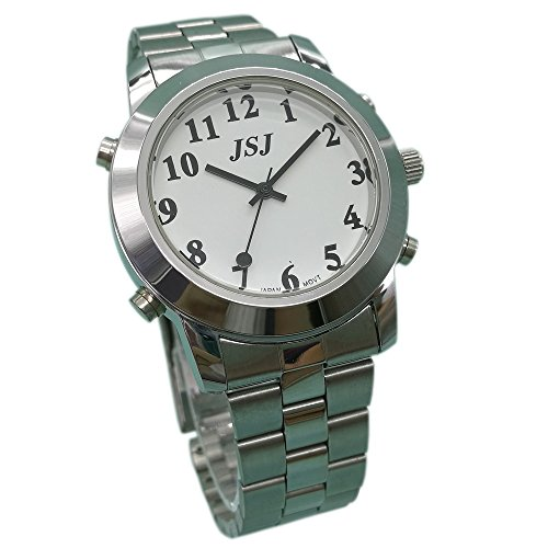 English Talking Watch for Blind People or Visually Impaired People or the Elderly with Alarm of Quartz: Amazon.com: Industrial & Scientific