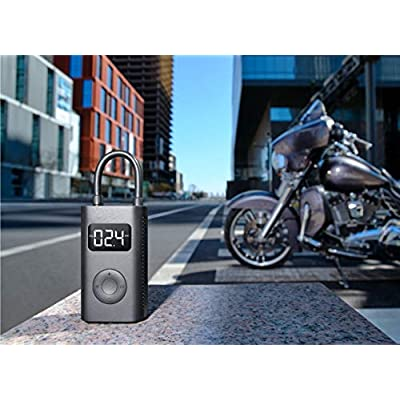 Xiaomi Mi Portable Electric Air Compressor Smart Portable Digital Tire Pressure Detection Electric Inflator Pump for Bike/Motorcycle/Car/Football: Sports & Outdoors