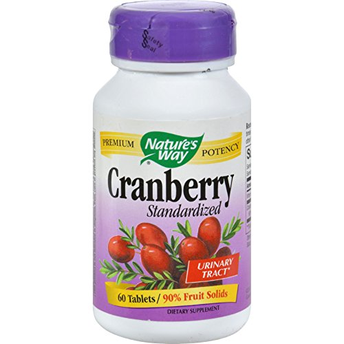 Nature's Way Cranberry Standardized - 60 (Natures Way Standardized Cranberry)