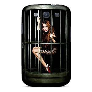 Fashion Tpu Case For Galaxy S3- Miley Cyrus 48 Defender Case Cover