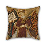 Slimmingpiggy Oil Painting Bonanat Zaortiga - Saint Lawrence Cushion Cases 16 X 16 Inches / 40 By 40 Cm For Divan,wife,christmas,floor,dining Room,kitchen With Two Sides