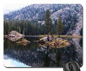 Alpine Lake Mouse Pad, Mousepad (Lakes Mouse Pad) by mcsharks