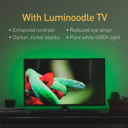 Luminoodle Color Bias Lighting - 9 8 ft for 30