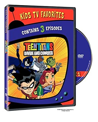 3c00ce51 Amazon.com: Teen Titans - Divide & Conquer 1 (Kids TV Favorites) by ...