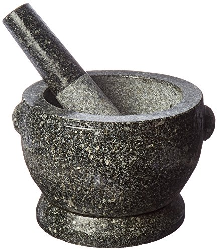 Large 8 Thai Granite Mortar and Pestle and The proper view