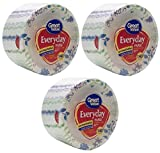 Great Value Multi-Purpose Everyday Disposable Premium Paper Plates, 140 count, 10 1/16in - 3 Packs