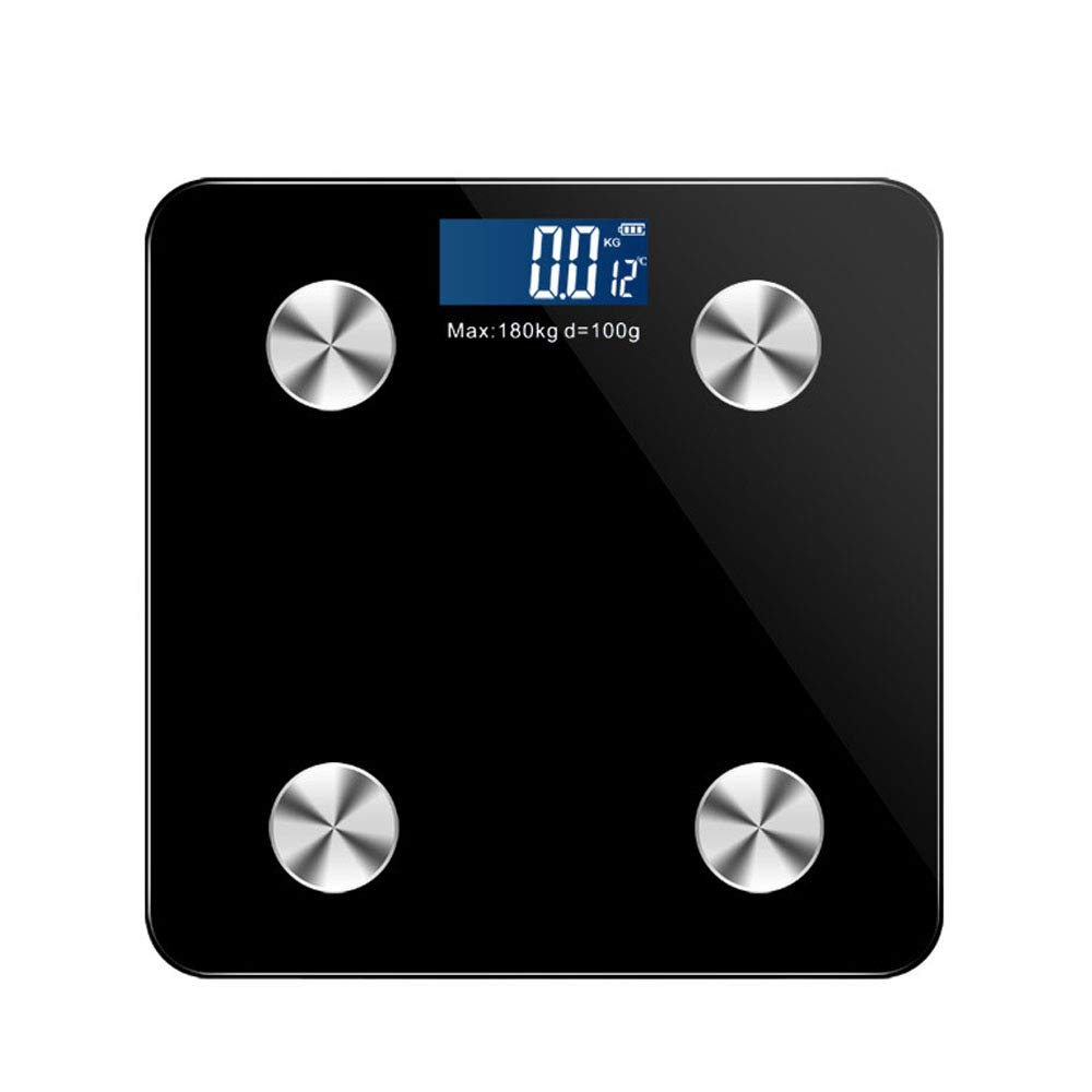 0 ℃ Outdoor Body-Fat-Skala, Smart BMI Digital Bathroom Waagen Drahtlose Gewichtsskala Körperzusammensetzung Analysator 11 Fitness-Indikatoren, 400 Lbs 297210
