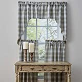 Park Designs Prairie Wood 72 Inches x 36 Inches Unlined Farmhouse Collection Tiers