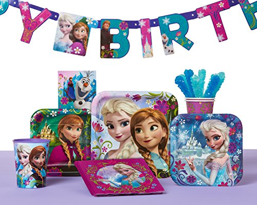 American Greetings Frozen Birthday Party Banner, 1-Count, Hinged Banner