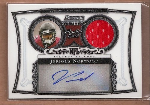 2006 Bowman Sterling #JN3 Jerious Norwood Autograph Jersey Card