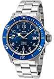 Glycine Combat Mens Analog Automatic Watch with Stainless Steel Bracelet GL0077