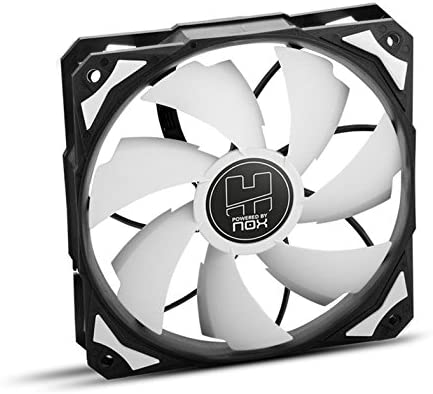 Nox H-FAN PWM - NXHUMMERF120PWM - Ventilador para Caja PC, 120 mm, Color Blanco: Amazon.es: Informática