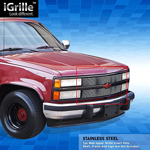 - Stainless Steel eGrille Billet Grille Grill For 88-93 Chevy C/K Pickup/Suburban/Blazer