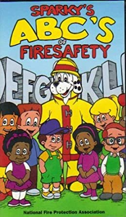 Sparkys ABCs Of Fire Safety Sparky The Dog Series Ages 4