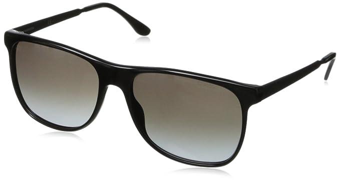 Carrera 6011 S N6, Montures de lunettes Mixte Adulte, Noir (Shiny Matte 5c13f4353d6d