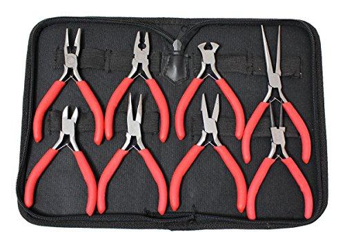 Multipurpose Mini 8-piece Pliers Set (Precision Piece 5 Pliers)